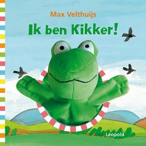 Ik ben Kikker (kartonboek met handpop) 2+ / Max Velthuijs