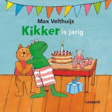 Kikker is jarig (kartonboekje) / Max Velthuijs