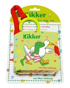 Kikker babyspeelboekje (bed-box knisperboekje) / Max Velthuijs