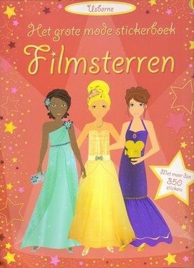 Het grote mode stickerboek: Filmsterren. 5+ / Usborne