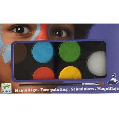 Schmink 6 kleuren Natuur / Djeco