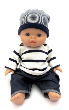 Baby jongenspop blank Gekleed / Paola Reina
