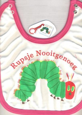 Rupsje Nooitgenoeg (buggyboek+slab). 1+ / Eric Carle