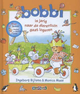 Bobbi jubileumboek (jarig, dierentuin, logeren). 2+