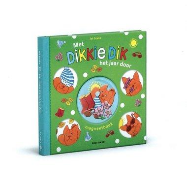 Met Dikkie Dik het jaar door (magneetboek) 3+