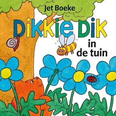 Dikkie Dik in de tuin (flapjesboek). 1+