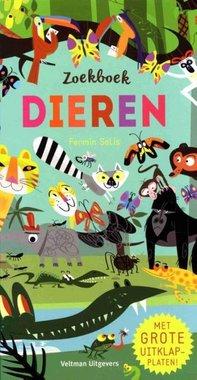 Zoekboek dieren (+ uitklapplaten) 3+ / Veltman Uitgevers B.V.