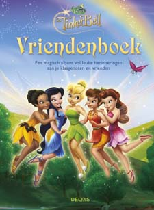 Disney Fairies Vriendenboek Tinkerbell / Deltas