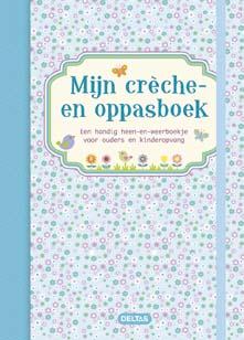 Mijn creche- en oppasboek (blauw) / Deltas