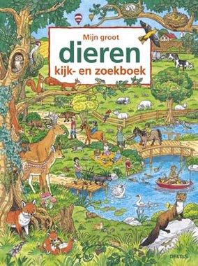 Mijn groot dieren kijk- en zoekboek 2+ / Deltas