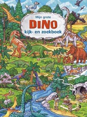 Mijn grote Dino kijk- en zoekboek 4+ / Deltas