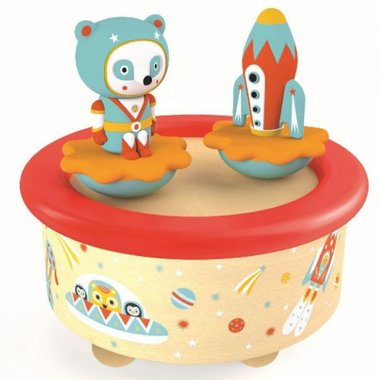 Muziekdoosje Ruimtevaart Space Melody / Djeco