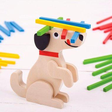Stapelspel Hond / BigJigs