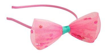 Haarband tule roze strik / Global Affairs