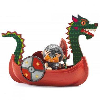 Arty Toys - Viking Drack & Ze Drakkar / Djeco