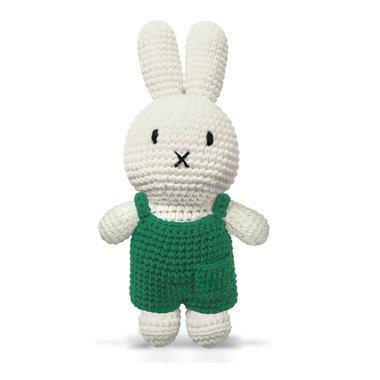 Nijntje handmade en haar groene overall / Just Dutch