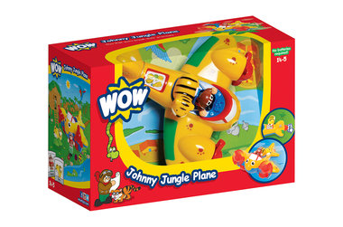 Johnny Jungle vliegtuig / WOW Toys