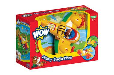 Johnny Jungle vliegtuig / WOW Toys