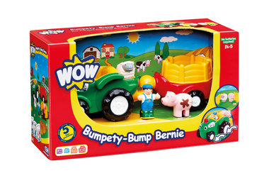Hobbel-tractor Bernie/WOW Toys
