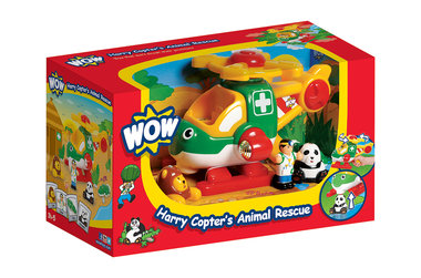 Harry dierenhelicopter / WOW Toys