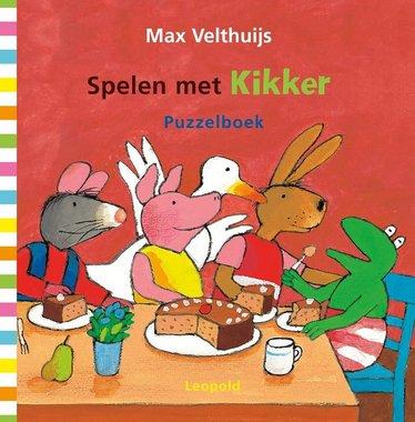 Spelen met Kikker (kartonboek). 2+ / Max Velthuijs