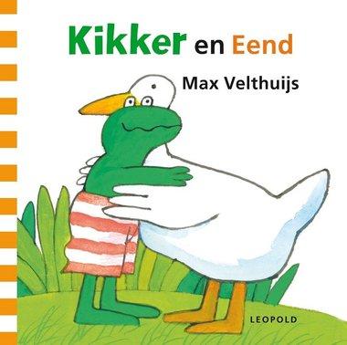 Kikker en Eend ( kartonboek). 2+/ Max Velthuijs