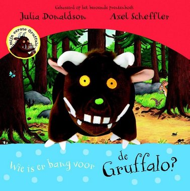 Wie is er bang voor de Gruffalo (handpopboek). 3+ / Lemniscaat