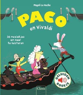Paco en Vivaldi (geluidenboek). 3+ / Clavis