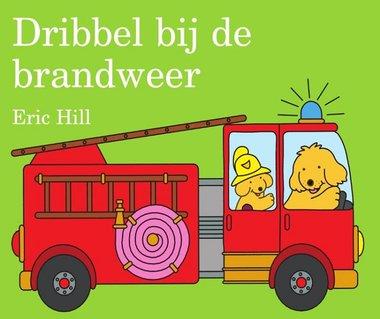 Dribbel bij de brandweer (kartonboek) 2+ / Unieboek