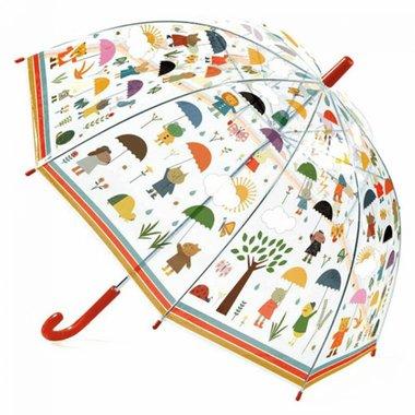 Kinderparaplu In de regen / Djeco