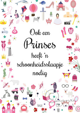 Poster Prinses / Leonie Verver