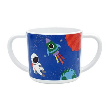 Happy in Space melamine drinkbeker met oren / Ginger