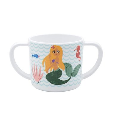 Delightful Mermaid melamine drinkbeker met oren / Ginger