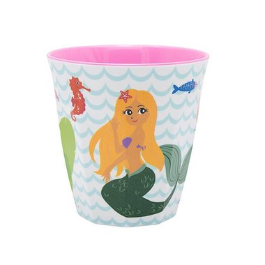 Delightful Mermaid melamine beker (small) / Ginger