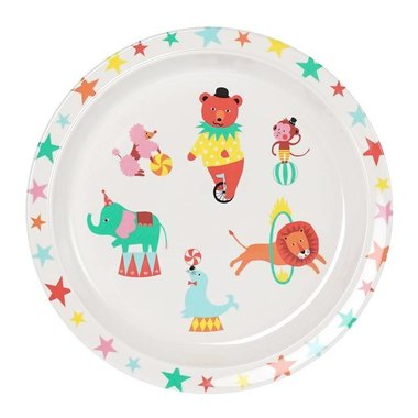 A Day at The Circus melamine bord / Ginger