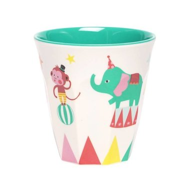 A Day at The Circus melamine beker (small) / Ginger