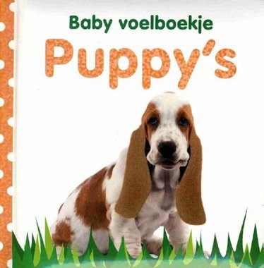 Baby voelboekje: Puppy's. 0+ / Veltman