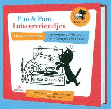 Pim en Pom luistervriendjes (boek + cd). 3+ / Fiep Westendorp