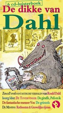 Luisterboek: De dikke van Dahl (6 cd's) 5+ / Roald Dahl