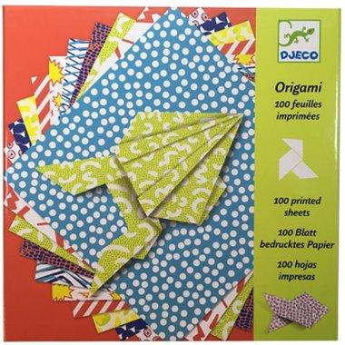 Origami papier (80 vellen) / Djeco
