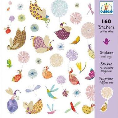160 stickers Kleine vleugels / Djeco