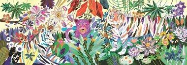 Puzzel Regenboog tijgers (1000 st) / Djeco