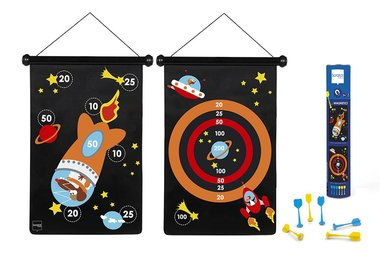 Magnetic Dartbord Astronauten / Scratch