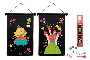 Magnetisch Dartbord Prinsessen / Scratch