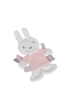 Knisperdoekje Nijntje gestikt roze / Tiamo