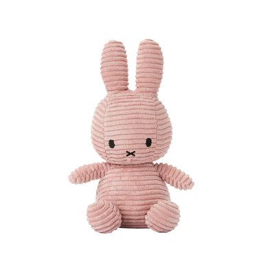 Knuffel Nijntje corduroy roze 24 cm