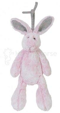 Pink Rabbit Rivoli Muziekdoosje (wasbaar) / Happy Horse