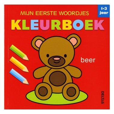 Mijn eerste woordjes kleurboek (1-3 j.) / Deltas