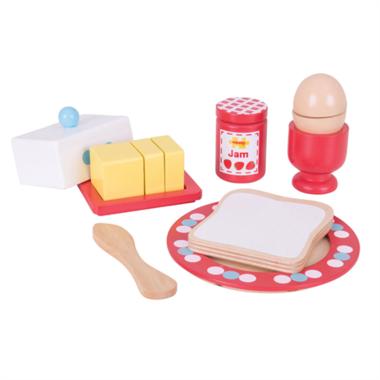 Houten ontbijt set Breakfast Time / BigJigs