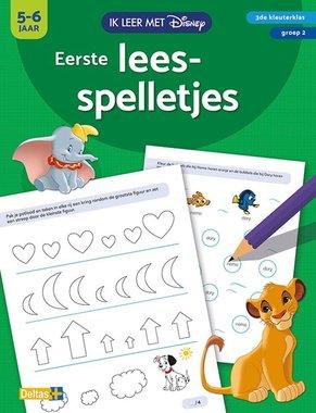 Disney Ik leer met - Eerste leesspelletjes (5-6 j.) / Deltas